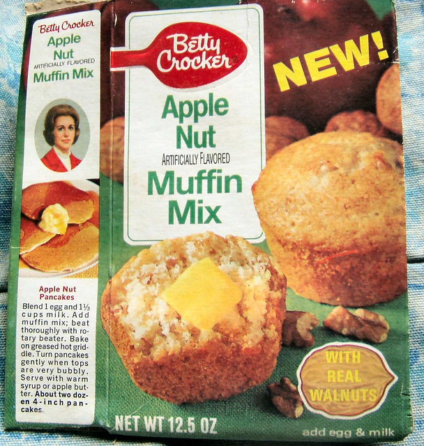 early 70s Betty Crocker muffin mix