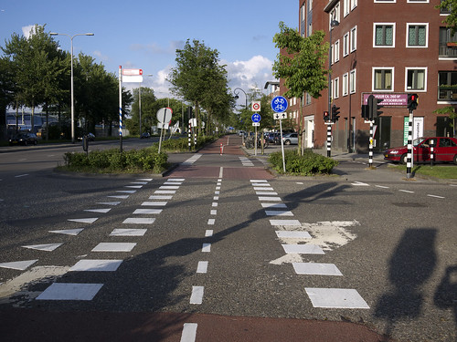 Bicycle superhighway, Haarlem