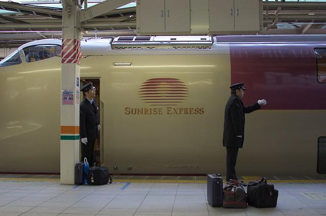 Tokyo Train Story サンライズ出雲・瀬戸 2014年3月9日
