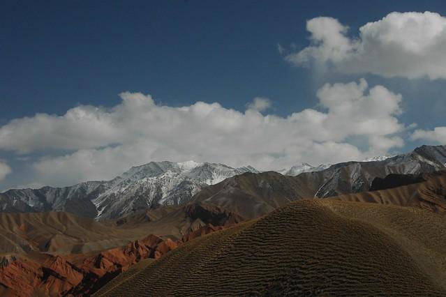 Mountain Landscapes - Osh to Sary Tash, Kyrgyzstan