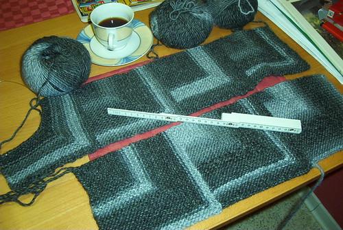 patchworkstricken nach horst schulz und liane stricken per hand anne liebler ist die. Black Bedroom Furniture Sets. Home Design Ideas