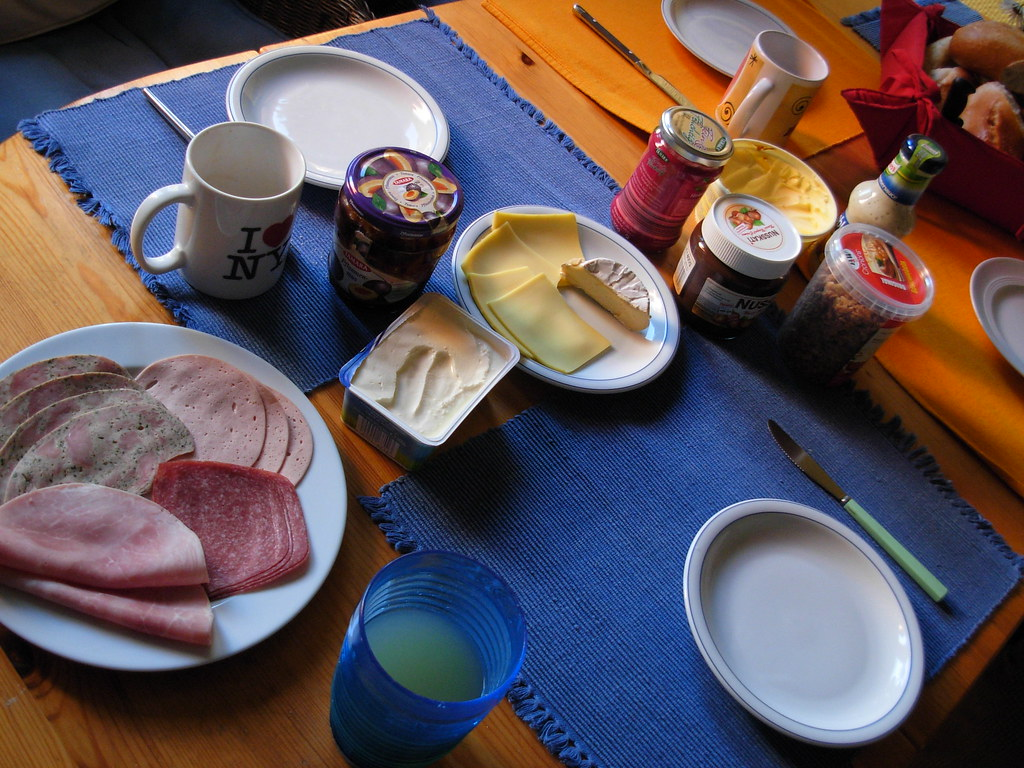 mmm... german breakfasts