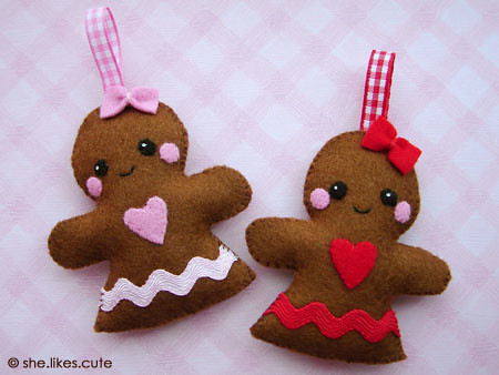 Shop update: gingerbread girls