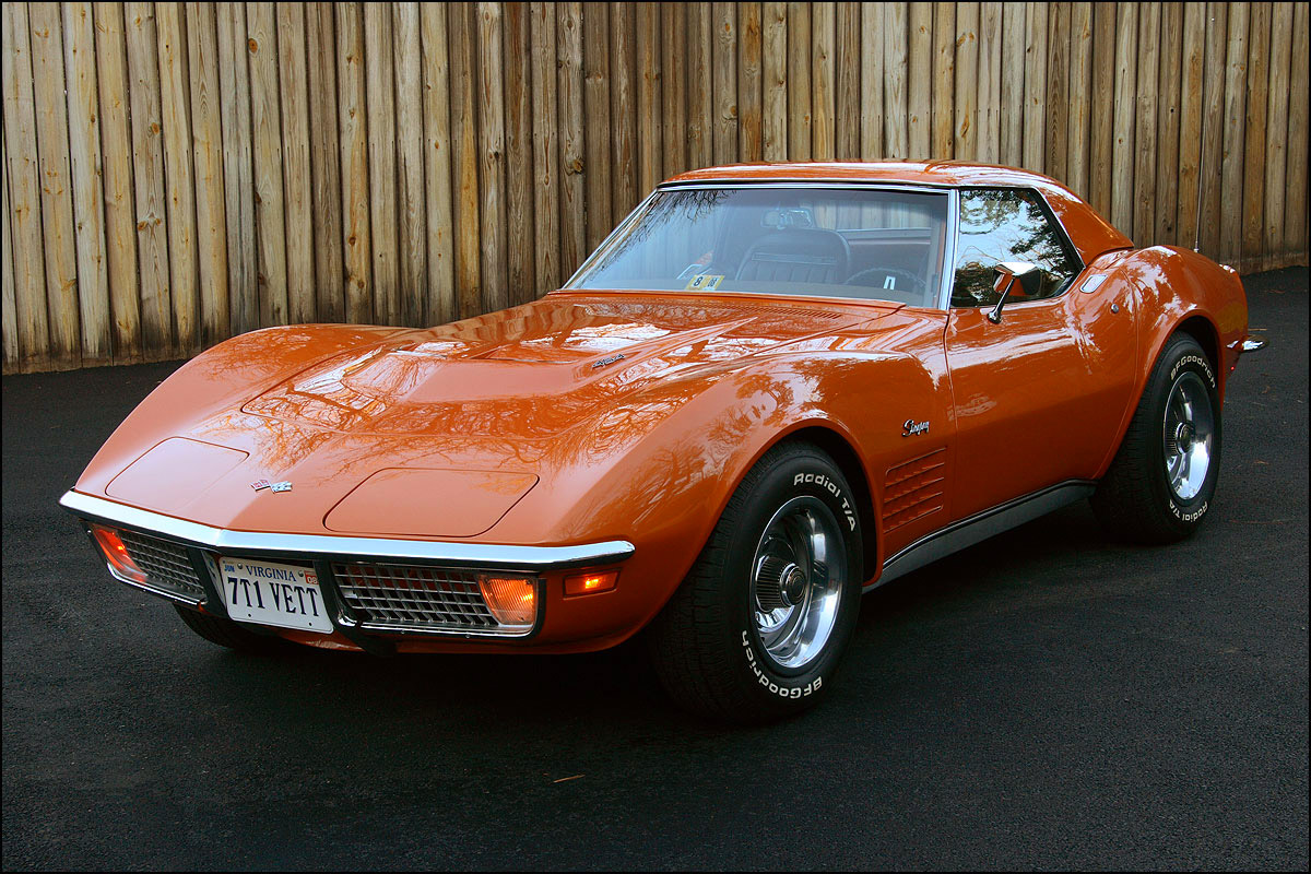 recently restored 1971 corvette stingray 454 4 speed. Cars Review. Best American Auto & Cars Review