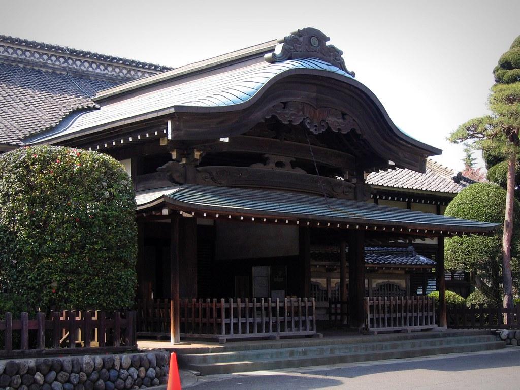 Kawagoe-jo: Honmaru Goten