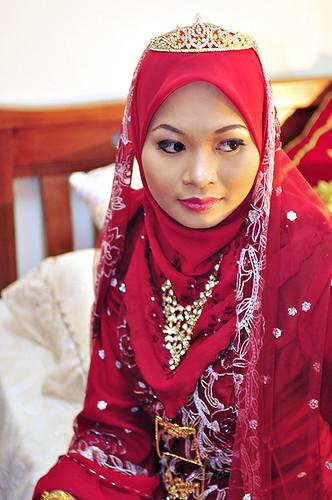 Hijab Style Malaysian Bridal Wear