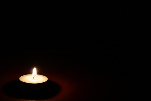 candle in the dark - photo #49