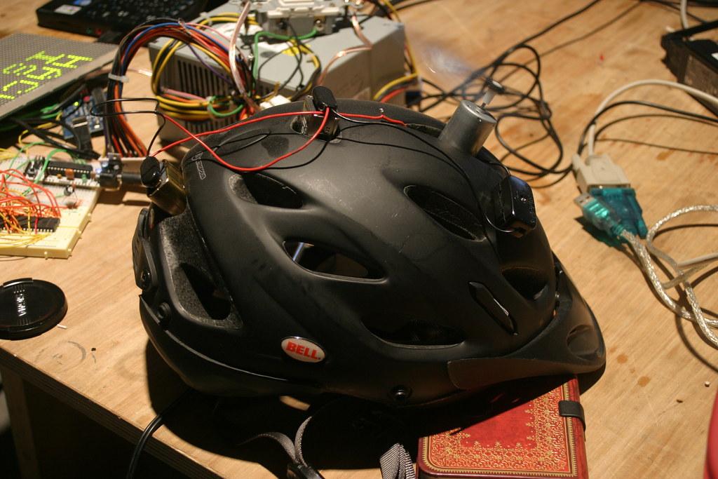 Bike Helmet On