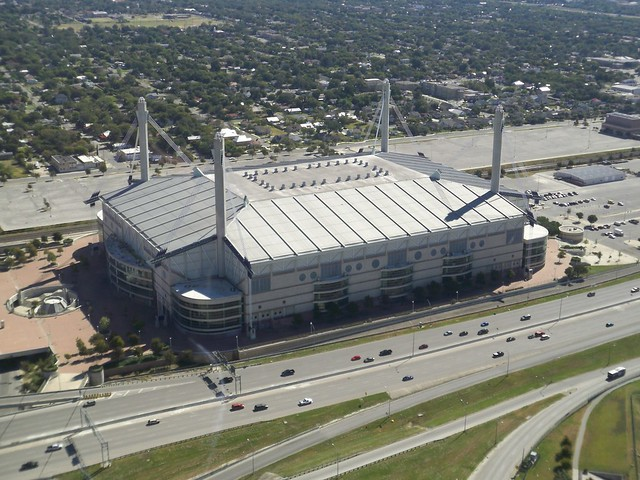 Header of Alamodome