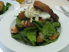 meal, spinach salad, breakfast, salad, vegetable, vegetarian food, food, dish, cuisine, caesar salad,