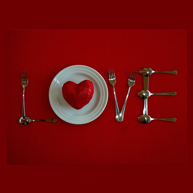 Happy Valentine's Day. Eat my love...