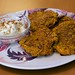 Baked Sweet Potato Latkes