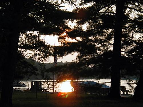 sunset cabin gladwin tittabawasseeriver