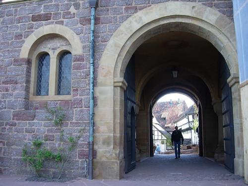 Wartburg Romanesque Passageway