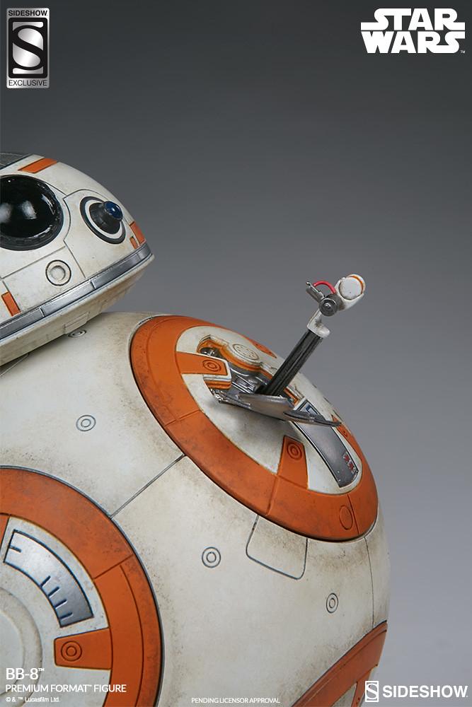 雕像配件包?!Sideshow Collectibles【BB-8】STAR WARS:原力覺醒 1/4 比例全身雕像作品