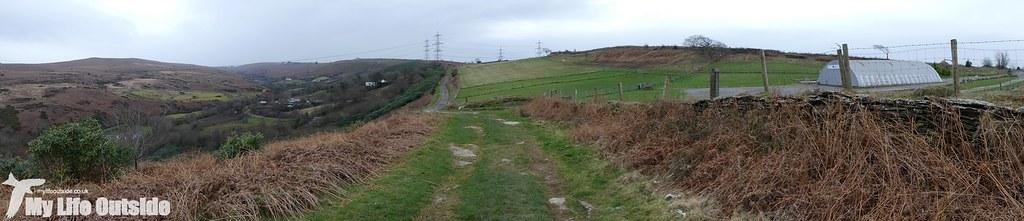 P1060826 - Route of the proposed Mynydd y Gwair wind farm access track