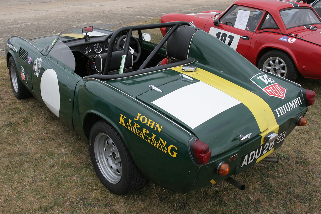 Colorful Triumph Spitfire Race Car For Sale Gift - Classic Cars ...