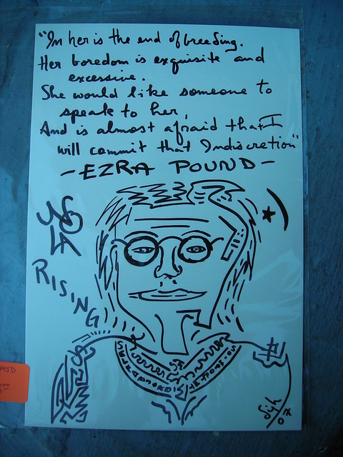 Ezra Pound Quote  $8 {UnFramed}  Flickr  Photo Sharing!