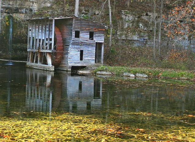Falling Spring Mill Rural Oregon County Missouri