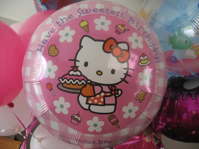Decoracion hello kitty globos - Decoracion hello kitty ...