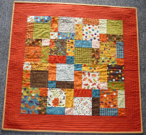 Dissappearing 9 Patch Lap Sized Quilt