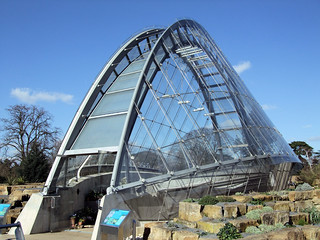 The Davies Alpine House, Kew Gardens, London.