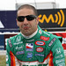 Tony Kanaan feels the rain coming