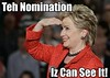 Teh Nomination, Iz Can See It!