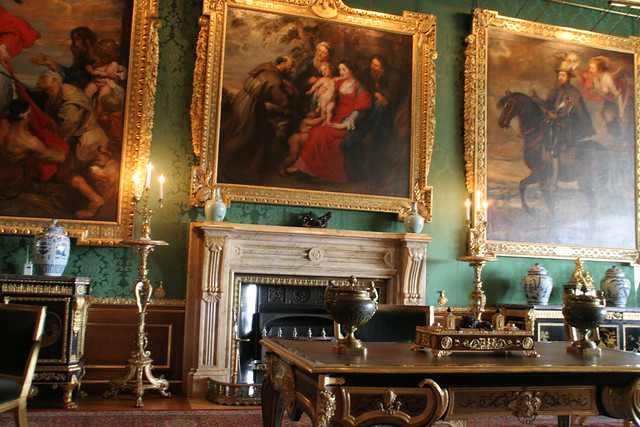 Rubens room the king 39 s drawing room windsor castle for Interieur windsor