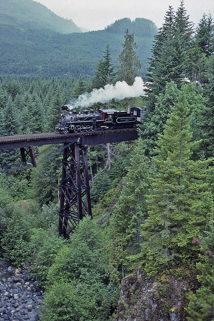 CFP 113 crossing Gold Creek.