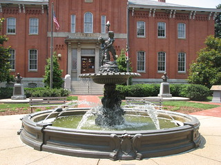 City Fountain at City Hall in Frederick