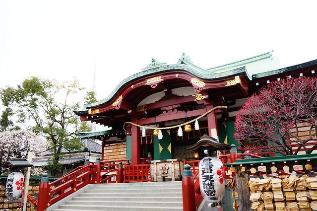 亀戸天神社社殿