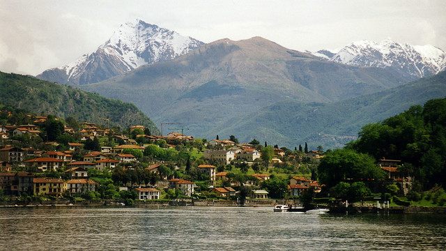 Alps and Lake Como