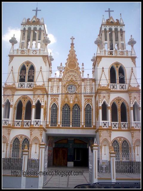 Templo Nuestra Señora del Carmen,Huejotzingo,Estado de Puebla,México