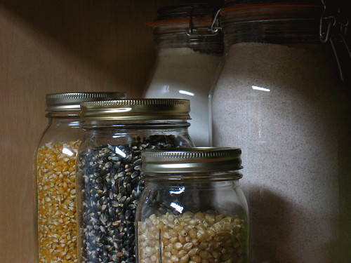 Glass jars of every size