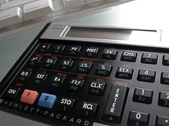 An old fashion calculator