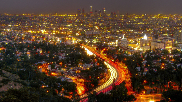 Downtown LA from Mulholland
