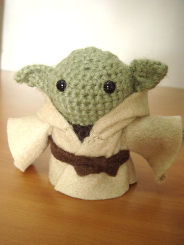 Yoda Amigurumi I bought this pattern from www.etsy.com ...