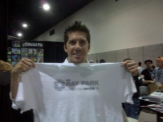 Ray Park @ Zazzle Star Wars booth