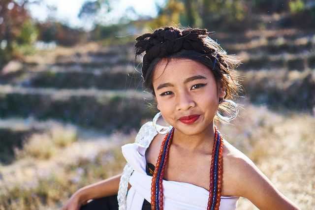 Kuki girl of Northeast India (Sony A6300 + SEL35F18 - full resolution)