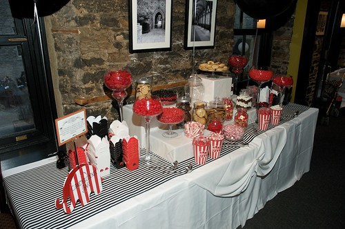 candy and cookie bar