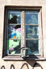 Fönster med färg