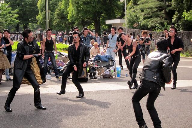 Tokyo - Harajuku: Yoyogi Park - Tokyo Rockabilly Club