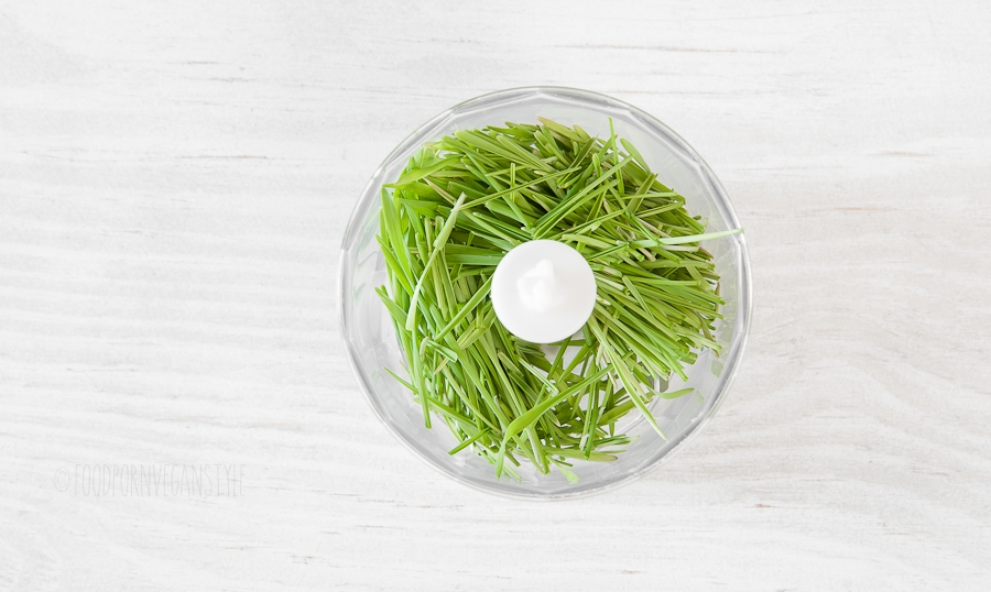 7How to make wheatgrass juice without a juicer