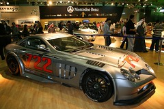 race car, automobile, exhibition, vehicle, performance car, automotive design, mercedes-benz, auto show, mercedes-benz slr mclaren, land vehicle, supercar, sports car,