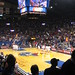 Action Shot of University of Kansas vs. Yale University Men's Basketball Game