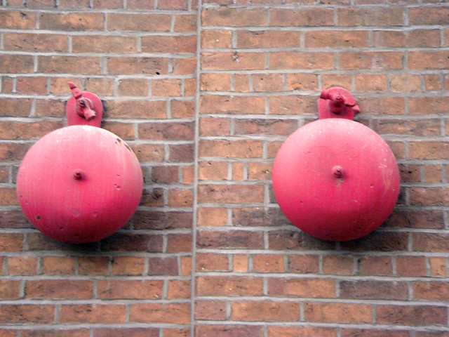 Ding! Dong! - A nice pair of bells which caught my eye in ...