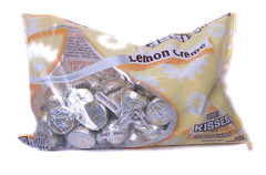 Hershey's Kisses Lemon White Chocolate Package