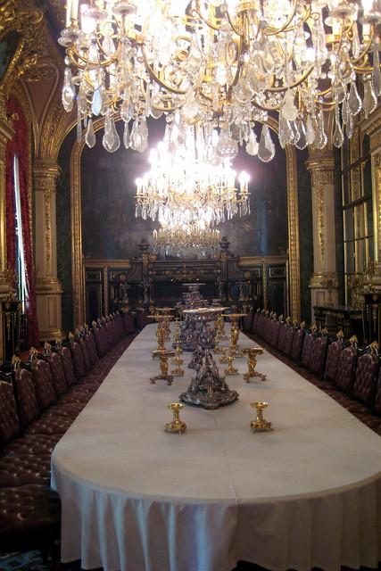 Paris mus e du louvre appartements napol on iii for Grande salle a manger