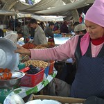 Sweet Treats at Osh Market, Kyrgyzstan